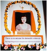 Marie Teresa Macias - Day of the Dead Altar, 1999