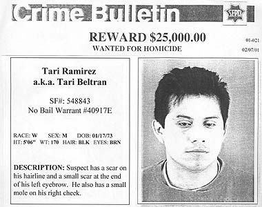 WANTED! Tari Ramirez